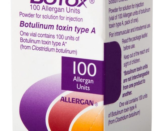 botox 100 allergan units price