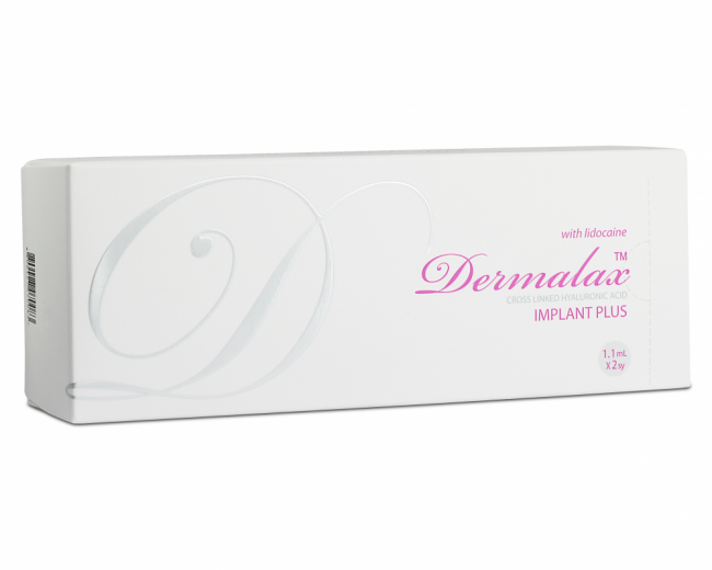Dermalax Implant Plus with Lidocaine (2×1.1ml)