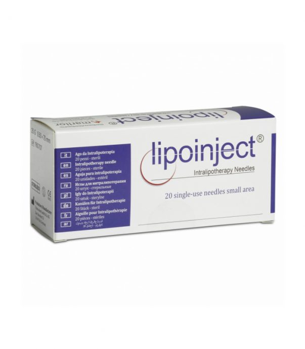 Buy LIPOINJECT Intralipotherapy Needle 25G x 70 mm