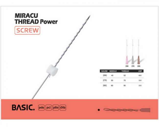 Buy MIRACU SCREW PDO Threads Online